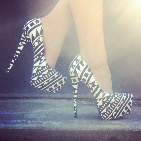 Tribal heels