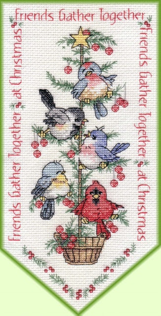 Birds Cross Stitch Gallery: Cute Birds ~ Pattern Carolyn Shore Wright
