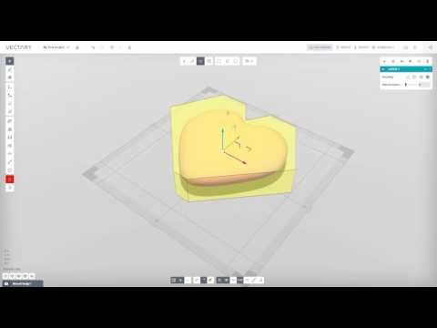 VECTARY | Getting started | 3D modeling tutorial (beta 1.2.6) - YouTube