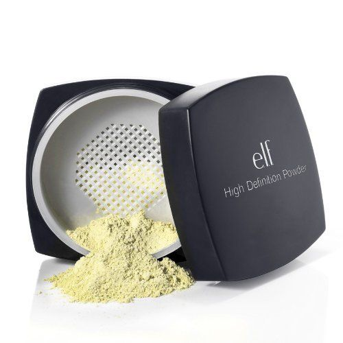 The Yellow Elf HD powder is a dupe for Ben Nye's banana powder. I DIDNT EVEN KNOW THIS WAS A THING.
