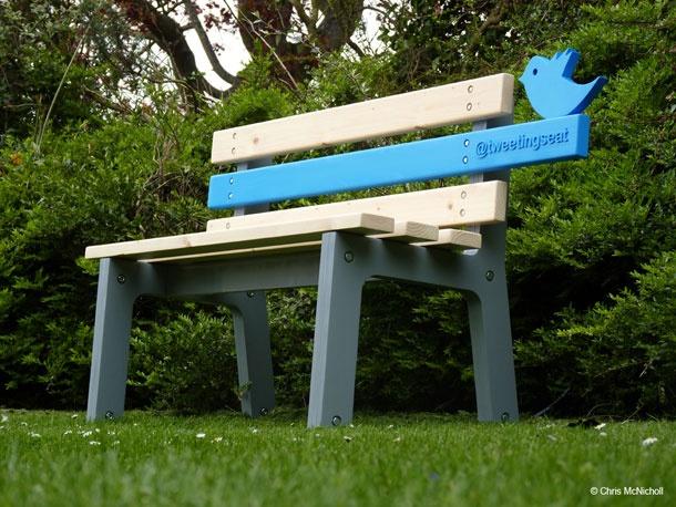 Le TwittingSeat - Artist : Christopher McNicholl  http://www.chrismcnicholl.com/