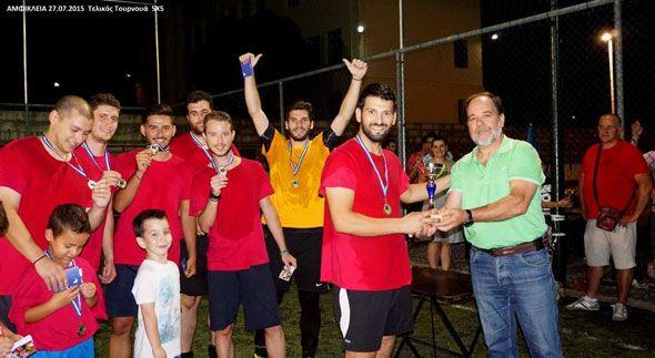 Ολοκληρώθηκε το 8ο Τουρνουά 5Χ5 στην Αμφίκλεια
