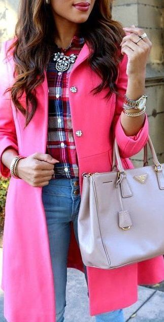 Pink Trench Coat ❤︎