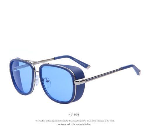 IRON-MAN-3-Matsuda-TONY-Steampunk-Sunglasses-Men-Mirrored-Designer-Brand-Glasses