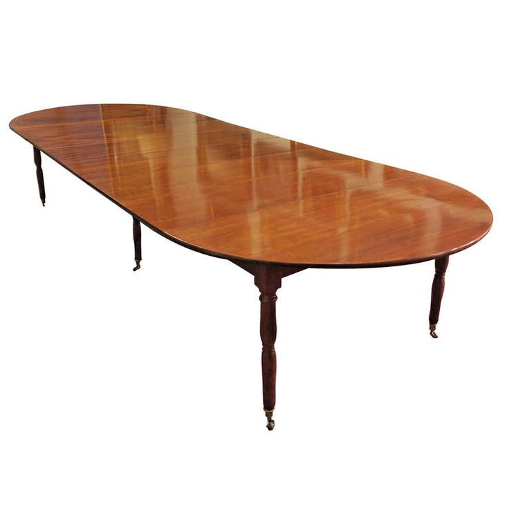 A Fine & Rare Louis XVI Mahogany Dining Table by Claude Messier, 18th Century   1stdibs.com