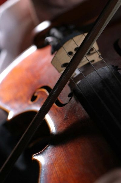 Violin ... I love this picture ... makes me think of my father and the instrument he loved so much ...