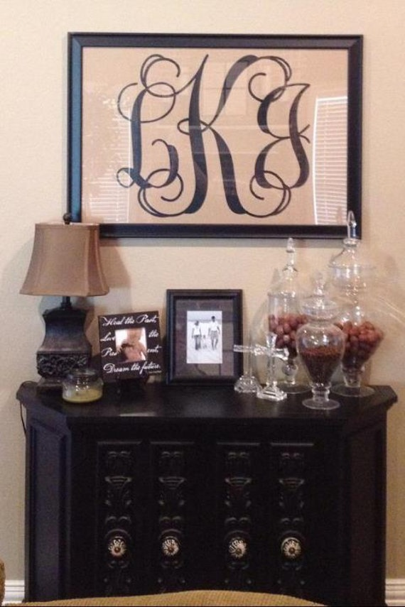24+Interlocking+Vinyl+Monogram+Decal+by+InitialYou+on+Etsy,+$22.95
