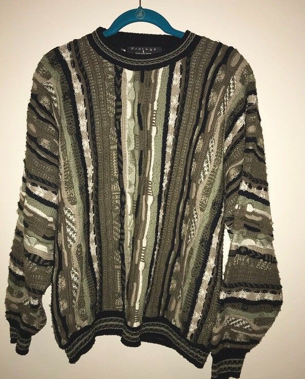d48dd778a Authentic Protoge 90s and 80s sweater oversized men's large multicolored  #fashion #clothing #shoes #accessories #mensclothing #sweaters (ebay link)
