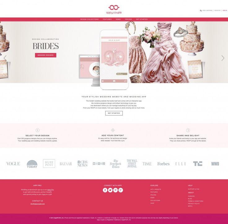 best wedding website templates