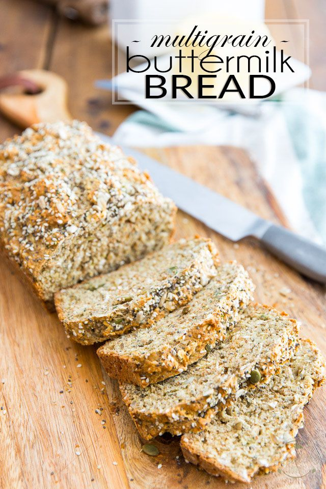 Multigrain Buttermilk Bread Recipe Buttermilk Bread Multigrain Bread Recipe Bread