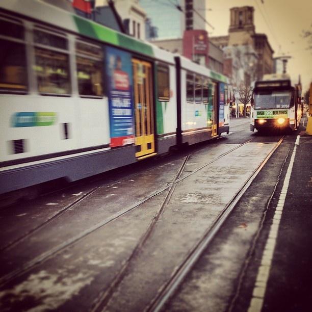 Peak Hour Trams - MrsEm Collection