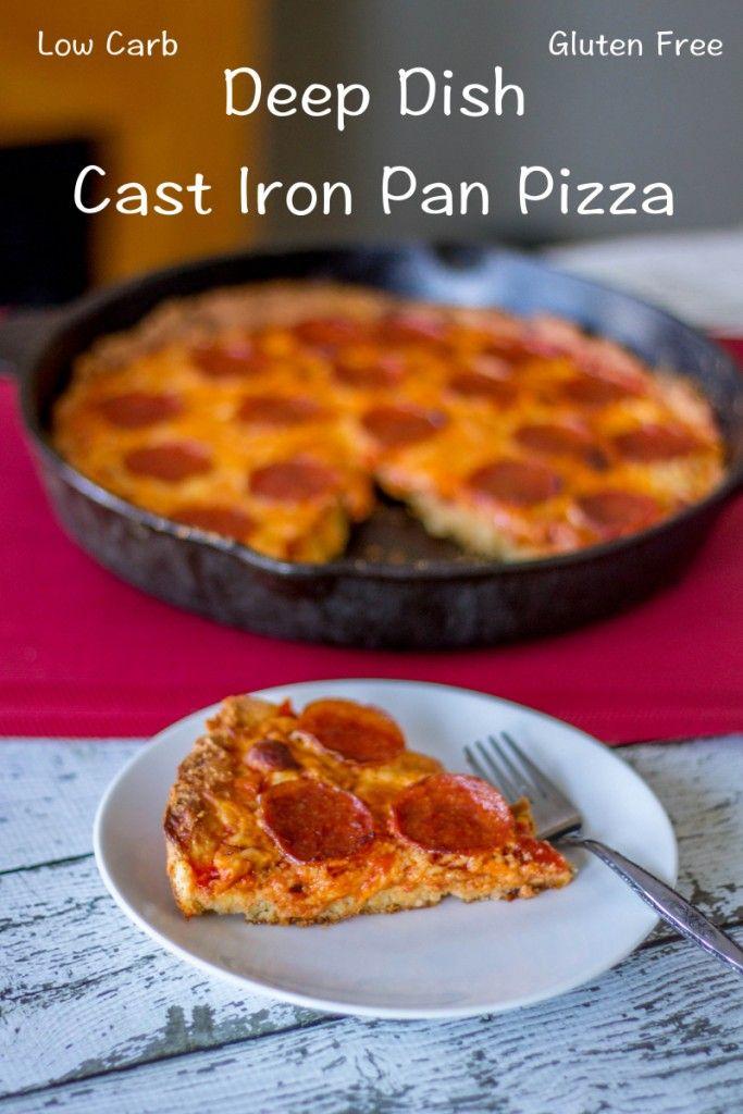 Deep Dish Cast Iron Pan Pizza – Gluten Free