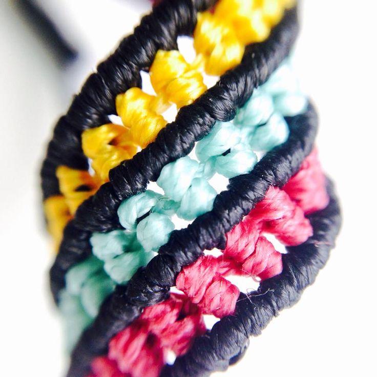 SANAM Macrame Bracelet