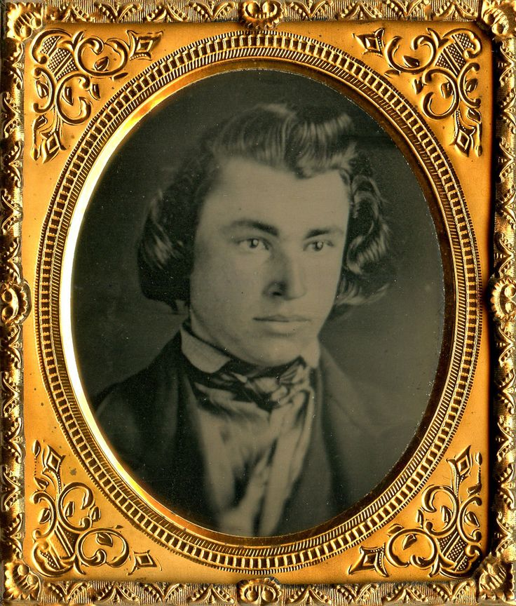 Antique 1 6 Plate Daguerreotype Close Up Portrait in Full RARE Leatherette Case | eBay
