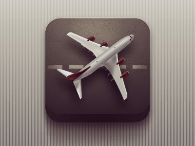 This icon feels almost minimalist in the use of space all while still maintaining the hyper realistic use of detail.