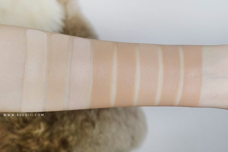 L'Oreal Infallible 24HR Liquid Foundation Review - All Shades Swatch
