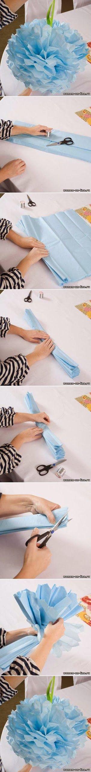DIY : Nice Simple Paper Flower | DIY & Crafts Tutorials