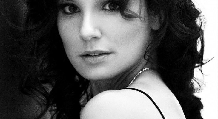 Sarah Wayne Callies Black and White portrait