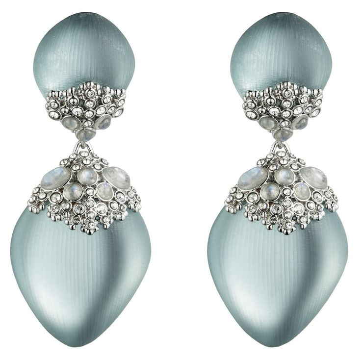 ALEXIS BITTAR | Teatro Moderne Rhodium Earrings | {ʝυℓιє'ѕ đιåмσиđѕ&ρєåɾℓѕ}