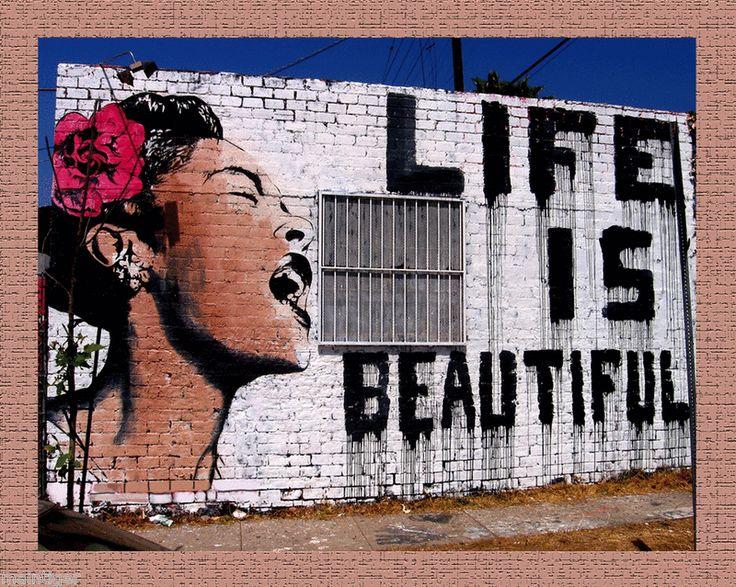 Banksy street art grafitti