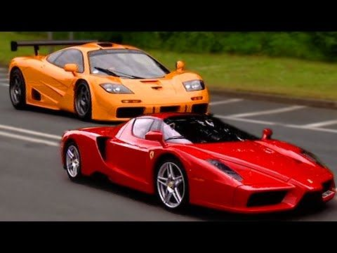 Bugatti Veyron vs McLaren F1 - Top Gear - BBC - YouTube