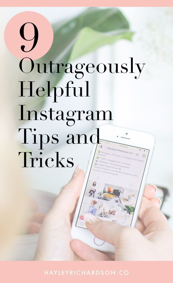 9 Instagram tips and tricks that grew my business >>