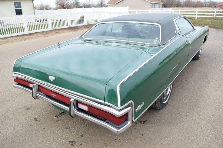 1971 Mercury Marquis Brougham Coupe Mercury marquis