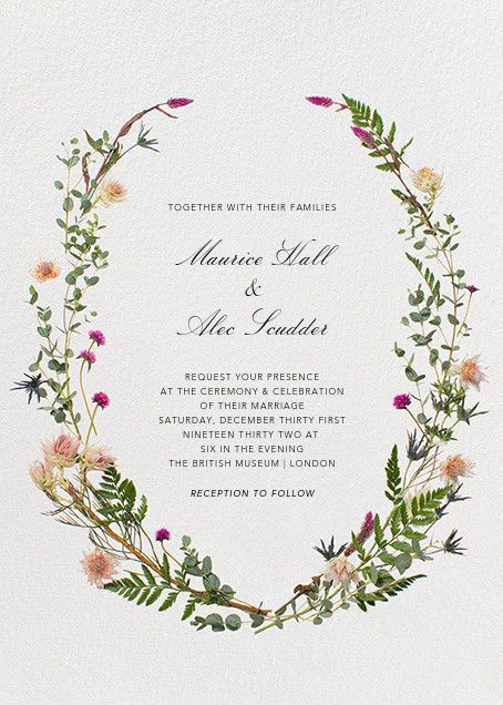 create beautiful wedding invitations for all of your bridal events