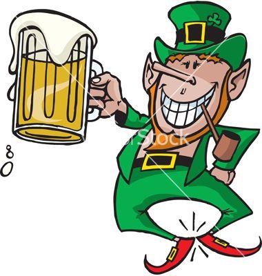 st. patricks day leprechaun clipart beer 2015