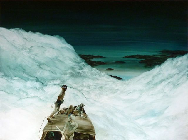 John Walsh, 'They learned to travel on the edge of the weather,' 2012, Page Blackie Gallery. New Zealander.