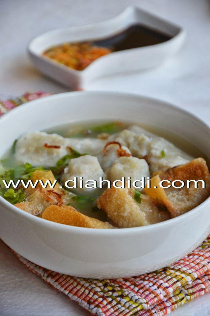 Diah Didi's Kitchen: Resep Cuanki ( Siomay Kuah Khas Bandung )