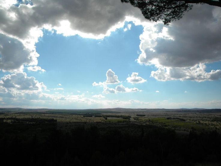 Skies of  Apulia  1 by  luigi  rabellino