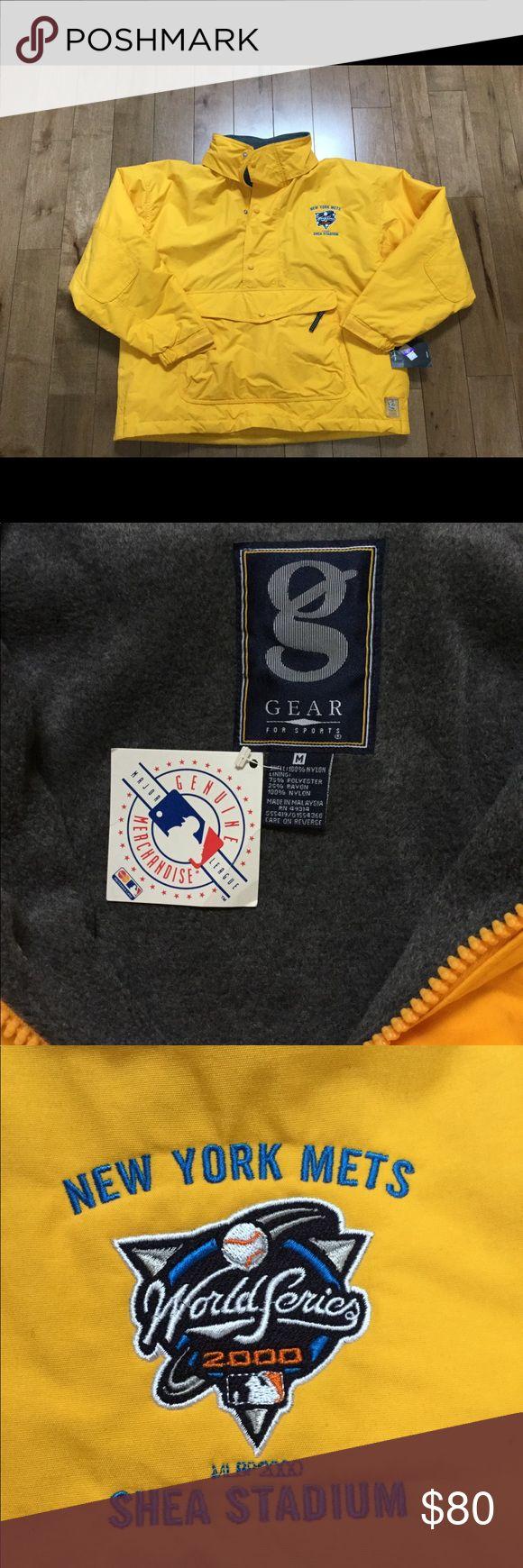 NY Mets 2000 World Series Pullover Jacket New with tag NY Mets year 2000 World Series Pullover Jacket.  Size M. NY Mets Jackets & Coats Performance Jackets