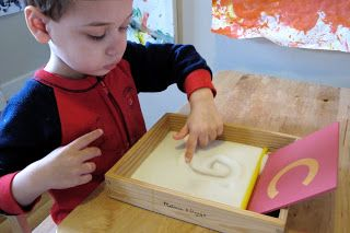 Peaceful Parenting: On The Road to Reading: Eight Months of Montessori-Inspired Literacy Work