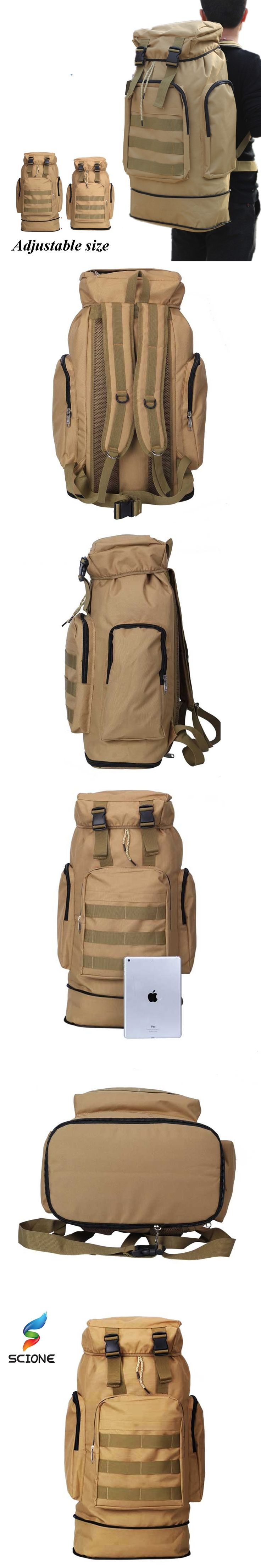 2017 Hot Army Men Women Outdoor Military Tactical Backpack Camping Hiking Rifle Bag Trekking Sport Travel Rucksacks Climbing Bag