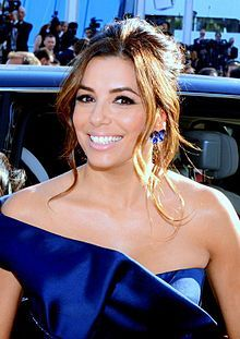Eva Jacqueline Longoria[2] (born March 15, 1975) is an American actress, producer, director, activist and businesswoman. Longoria is also known for her charity work and was named as the Philanthropist of the year by The Hollywood Reporter.