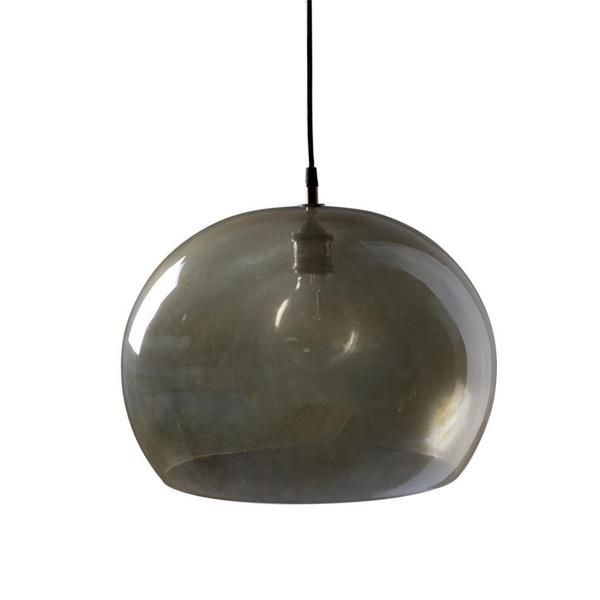 Aura Small Silver 1-light Hanging Pendant (India)
