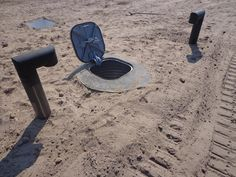 See This Hidden Trap Door In The Ground? Just Wait Til You See What's Down There... WHOA.
