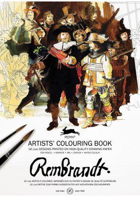 Pepin Press Colouring Book - Rembrandt