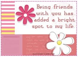 Aah, the gift of a true friend