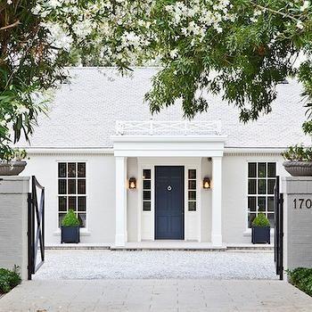 Best 25 front door trims ideas on pinterest exterior for 10 downing street front door paint