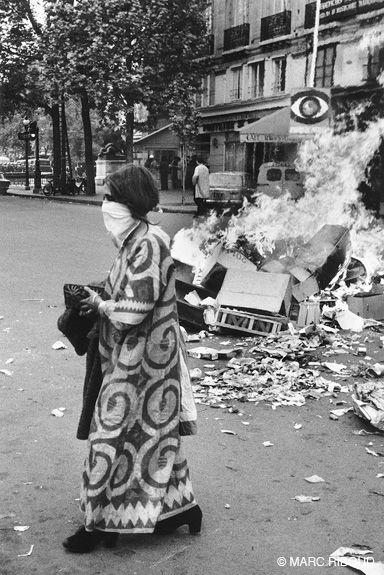 Mark Riboud Paris, May`68