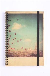 Vintage Balloon notebook