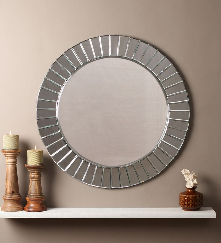 Bella Silver MDF Mirror #mirrors #mirror #reflectors #show #pinit #pinterest #shazliving Shop at: https://www.shazliving.com/
