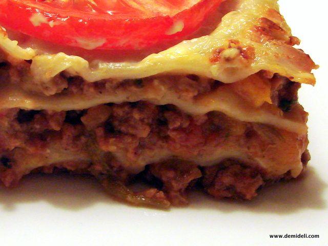 Λαζάνια Μπολονέζ με φρέσκια πάστα – Lasagna Bolognese (demideli.com)