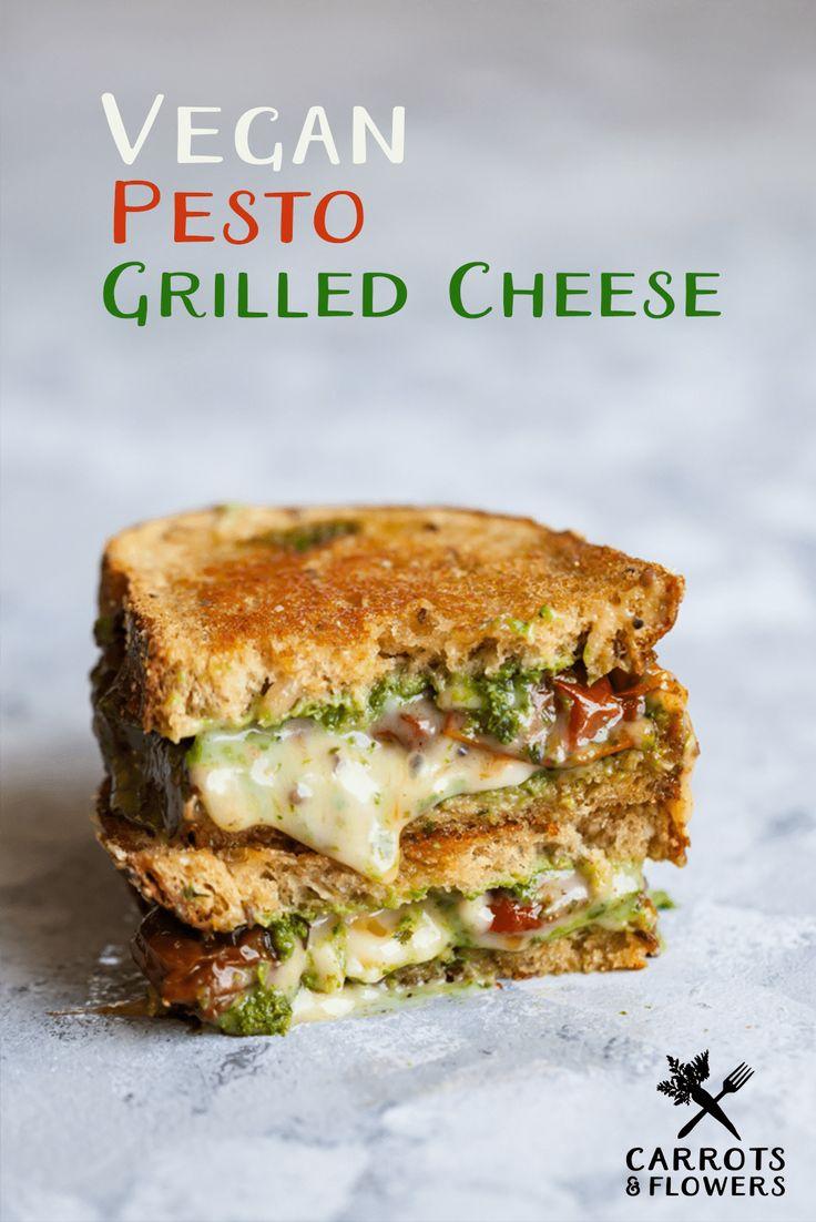 Machen Sie Gourmet-Sandwiches zum Abendessen in weniger als 10 Minuten mit diesem mega-einfachen V …   – Vegan recipes