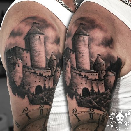 Tattoo-Foto: Castle / Schloss