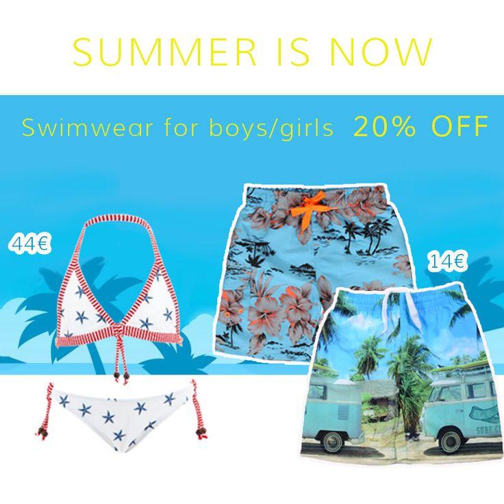 ☀ Το Καλοκαίρι είναι εδώ ☀ ➡ Μαγιό σε απίστευτες ΠΡΟΣΦΟΡΕΣ Μαγιό για αγόρι εδώ: http://goo.gl/pAZL5k Μαγιό για κορίτσι εδώ: http://goo.gl/MB7z0C  #vaptisionline #fashionkids #προσφορες #sales