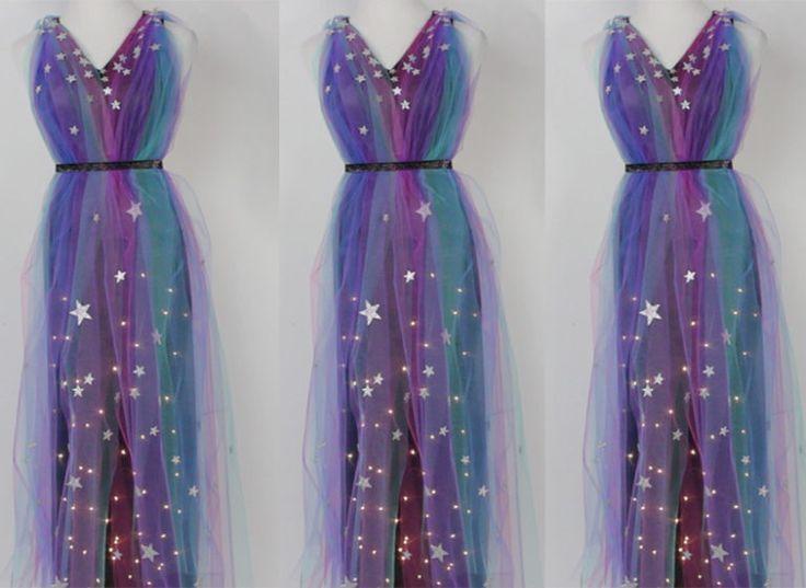 diy galaxy dress