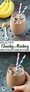 The Seasoned Mom Chunky Monkey Protein Smoothie - The Seasoned Mom